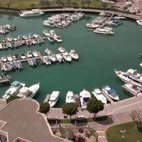 Photo taken at InterContinental Abu Dhabi by Jari K. on 4/7/2012