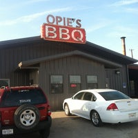 Photo taken at Opie's BBQ by Cesar R. on 6/3/2012