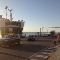 Photo taken at Porto di Villa San Giovanni by Orlando G. on 8/31/2012