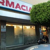 Photo taken at Farmacias Guadalajara by Mauricio N. on 3/23/2012