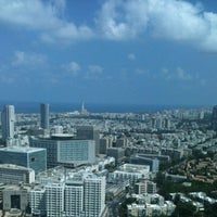 Photo taken at Azrieli Square Tower by Avi A. on 7/29/2012