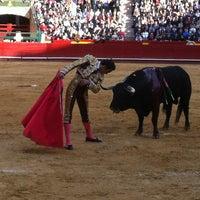 Foto tomada en Plaza de Toros de Valencia por Nuria F. el 3/19/2012
