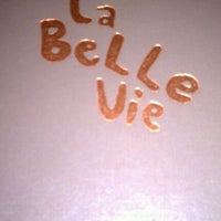 Photo taken at La Belle Vie by Pasquale D. on 4/30/2012