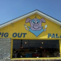 Photo taken at Pig Out Palace by danny K. on 7/22/2012