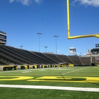 Photo taken at Autzen Stadium by Charmaine N. on 6/18/2012