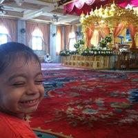 Photo taken at Gurudwara Sri Guru Singh Sabha by Sunny S. on 8/27/2012