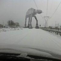 Photo taken at Snowpocalypse 2012 by Thomas B. on 2/14/2012