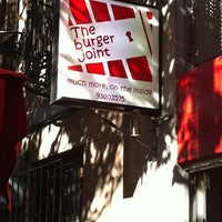 Photo taken at The Burger Joint by Gavin W. on 7/2/2012