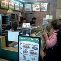 Photo taken at Subway by Vicente M. on 7/24/2012