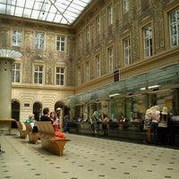 Photo taken at Česká pošta | General Post Office by Tigra . on 6/9/2012