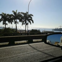 Photo taken at Avenida Rodrigues Alves by Marcelo C. on 6/27/2012
