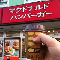 Photo taken at マクドナルド 片瀬江ノ島駅前店 by Manabu I. on 4/19/2012