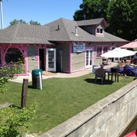 Photo taken at The Boathouse Tea Room by Barry T. on 6/15/2012