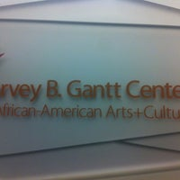 Photo taken at Harvey B. Gantt Center for African-American Arts + Culture by Daniela G. on 6/8/2012