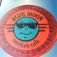 Photo taken at Blue Moon Mexican Cafe by Angelina C. on 7/14/2012