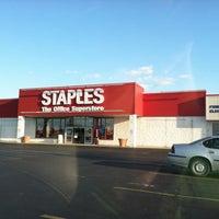 Photo taken at Staples by Kristie K. on 5/14/2012