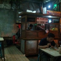 "Photo taken at Mie Kluntung/Nasi Goreng Jawa ""Pak Muji"" by Ramadhani P. on 7/17/2012"