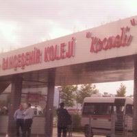 Photo taken at Bahçeşehir Koleji by ÖZTÜRK B. on 5/15/2012