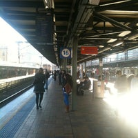 Photo taken at Central Station (Platforms 16 & 17) by Tengu T. on 8/13/2012