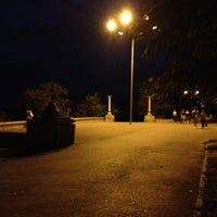 Photo taken at Парк Победы (на ул. им. Чуйкова) by Evgenia on 8/29/2012