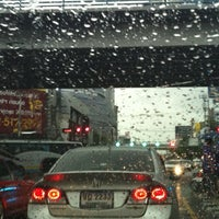 Photo taken at Ratchayothin Intersection by Daow Ja D. on 8/30/2012