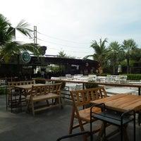 Photo taken at Malibu Bar&Restaurant by Sakarin S. on 5/8/2012