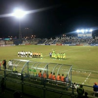 Photo taken at Stadium Sultan Ismail Nasiruddin Shah by eDen S. on 3/27/2012