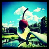 Photo taken at Minneapolis Sculpture Garden by Evan H. on 6/5/2012
