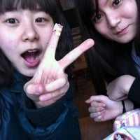 Photo taken at Lotteria by Seung Ah L. on 3/19/2012