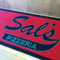 Photo taken at Sal's Pizza by Myra on 3/15/2012