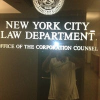 Photo taken at New York City Law Department by John-Paul G. on 7/23/2012