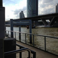 Photo taken at Sathorn (Taksin) Pier (CEN) by Wanza Z. on 7/15/2012