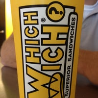 Photo taken at Which Wich? Superior Sandwiches by Marlena R. on 6/30/2012