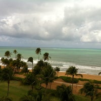 Photo taken at Wyndham Grand Rio Mar Beach Resort & Spa by Stephanie G. on 3/24/2012
