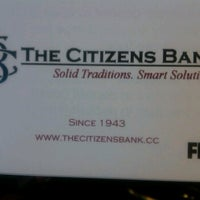 Photo taken at The Citizens Bank by Sandra M. on 6/4/2012