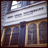 Photo taken at New York University by Caroline G. on 6/6/2012