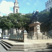 Photo taken at Praça XV de Novembro by Andre M. on 7/17/2012
