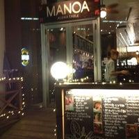 Photo taken at MANOA Aloha Table by yukiex on 9/8/2012