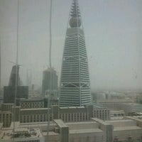 Photo taken at Al Faisaliyah Tower by Ramil D. on 6/24/2012