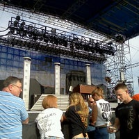 Photo taken at Soaring Eagle Outdoor Concert Venue by Craig B. on 7/29/2012