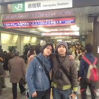 3/24/2012にTopan R.が原宿駅で撮った写真