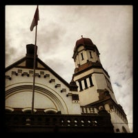 Photo taken at Lawang Sewu by Erfira S. on 5/4/2012