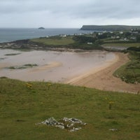 Photo taken at Daymer Bay by Chris R. on 8/7/2012