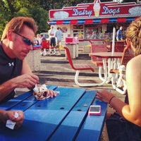 Photo taken at Dairy Dogs by Nick R. on 6/18/2012