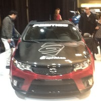 Photo taken at KIA Exhibit #CIAS12 by GoBabu.com D. on 2/18/2012