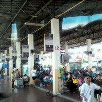 Photo taken at Lampang Bus Terminal by nukoun &. on 7/15/2012