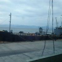 Photo taken at Fish Port Gensan by Marz B. on 6/11/2012