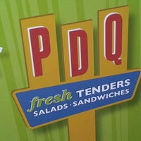 Photo taken at PDQ Tenders Salads & Sandwiches by Jessica W. on 3/21/2012