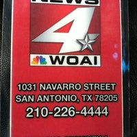 Photo taken at News 4 WOAI by Delisi Araceli F. on 6/14/2012