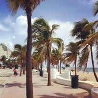 Photo taken at Fort Lauderdale Beach by Big J. on 9/4/2012